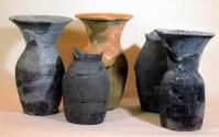 須恵質埴輪壺