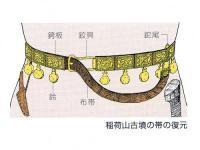 竜文透彫帯金具