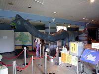 エントランスのメタボサウルス