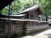 広瀬神社本殿
