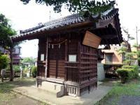 清水八幡神社拝殿