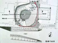 七曲井平面図