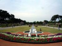 南噴水庭園