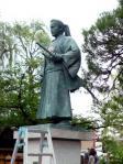 土方歳三の銅像