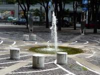 開港広場噴水