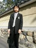 卒業式he
