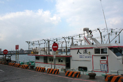 イカ釣り漁船ですか。
