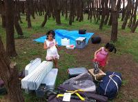 十三湖キャンプ1