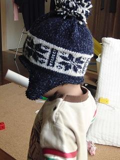 毛糸の帽子1-2