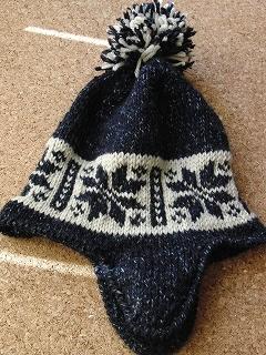 毛糸の帽子1-1