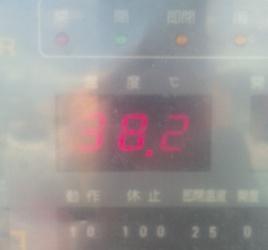 38度だって
