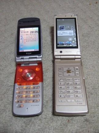 携帯の新旧交代