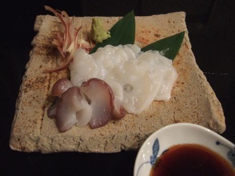 北海道産生たこ刺身