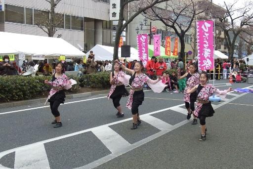 子供達による「ひたち舞祭」