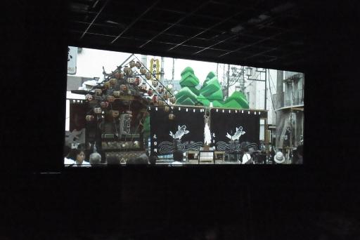 山あげ祭の映像