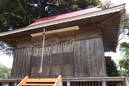 八坂神社の拝殿