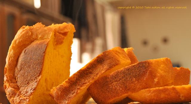 焼き立て野菜ジュースパン
