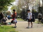 真摯にテニス練習に励まねばならぬ