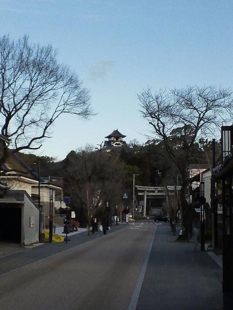 2012 1月25日 犬山本町通り