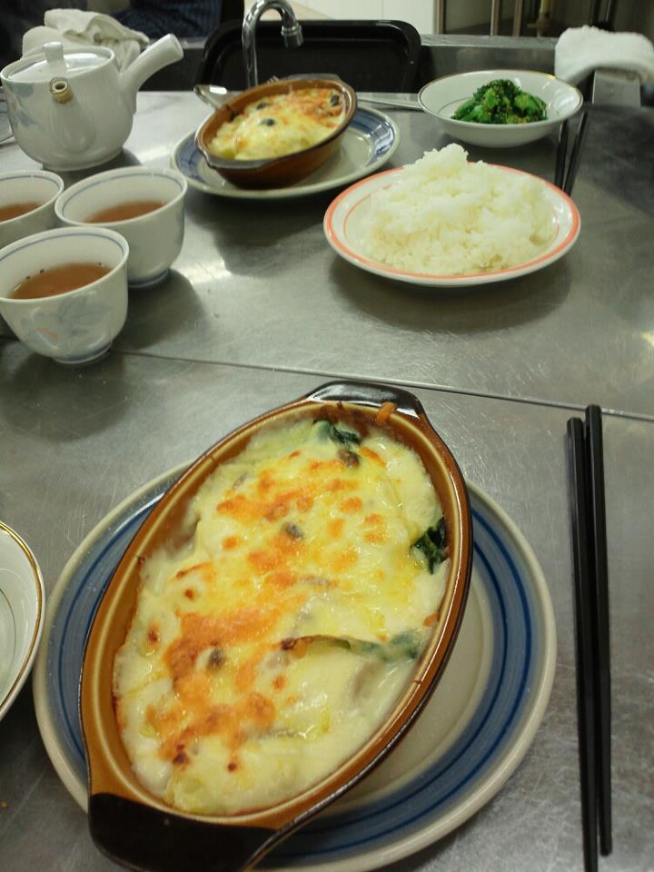 2012 2月 男の料理教室 タラとジャガイモのクリームグラタン