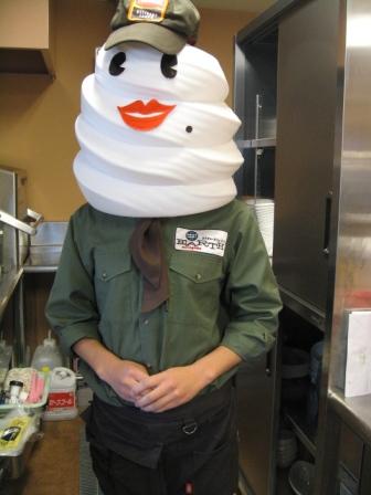 ソフトクリーム店長