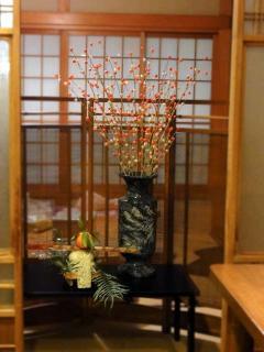 たこ梅 本店のお正月の様子(2011/01)b