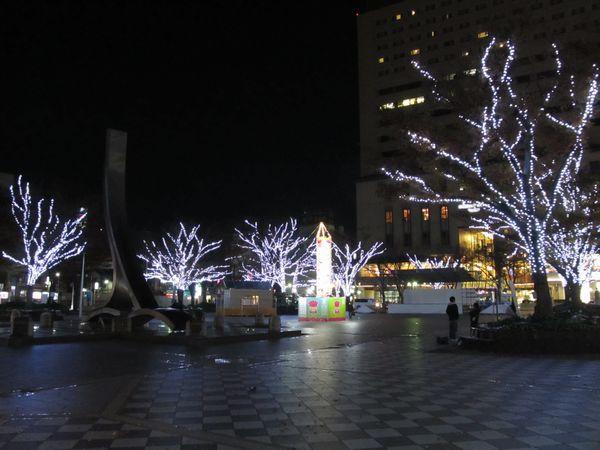 千葉市中央公園イルミネーション「ルミラージュちば2011」