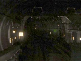 品川埠頭直下のシールドトンネル接続部分。