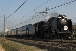2007・2008年の運行で使用されたD51形498号機。