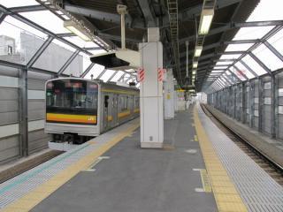 矢野口駅ホーム