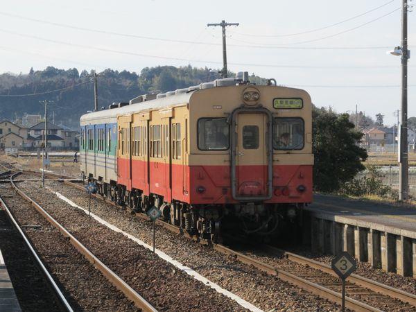 久留里線キハ30系+キハ38系