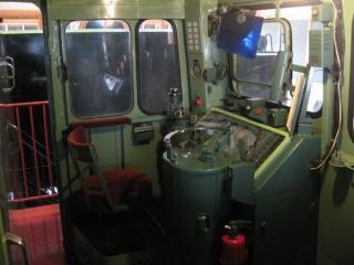 ED70形1号機の運転台