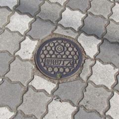野田市のマンホール(ガス)