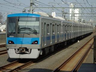 小田急電鉄の4000形。