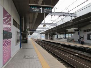 ホーム大崎方の階段