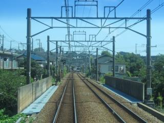 引き上げ線の新設が予定されている帷子川との交差部分