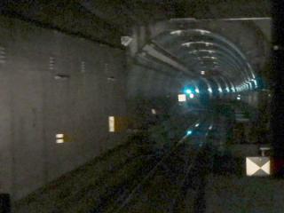 天王洲トンネル入口