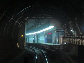 天王洲アイル駅との接続部分。