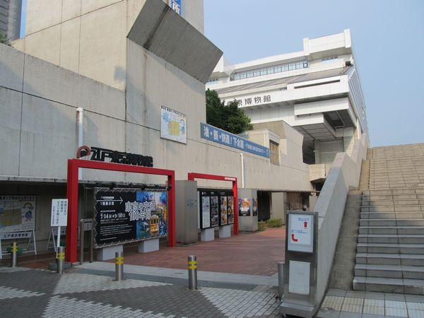 江戸東京博物館。2011年8月16日撮影