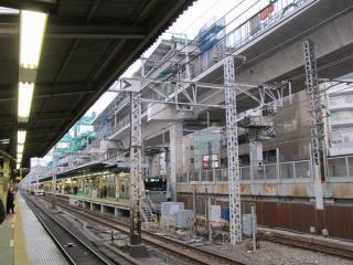 神田駅東京寄りの定点観測(2012年3月3日)