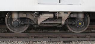 16000系の台車(住友金属工業製FS779形)。