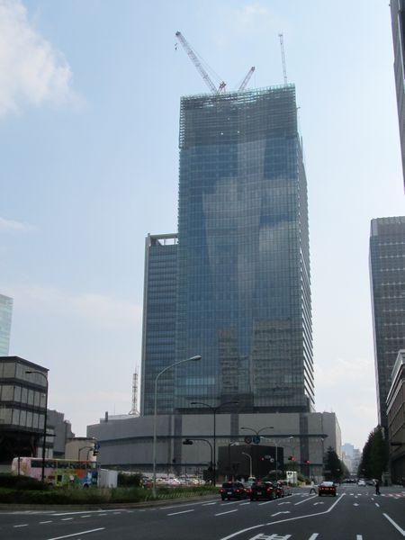 2011年10月9日に撮影したJPタワー。