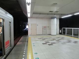 日吉駅ホーム渋谷方