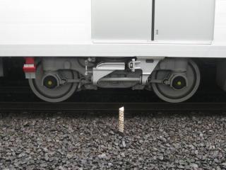 15000系のボルスタ台車(FS778形)