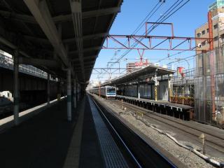 地上時代の浦和駅。