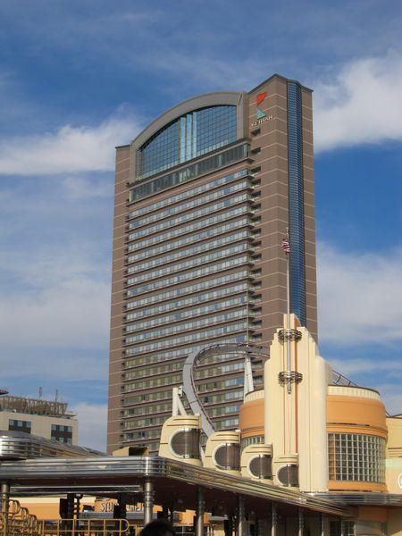 この日宿泊したホテル京阪ユニバーサル・タワー