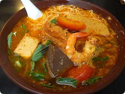 トマト海鮮麺