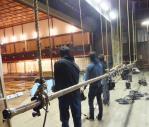 竹製のバトン