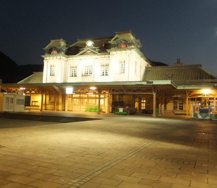 門司港駅夜景