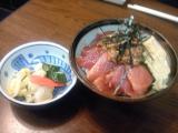マグロ納豆丼
